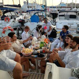 Feste in Barca a Vela a Catania